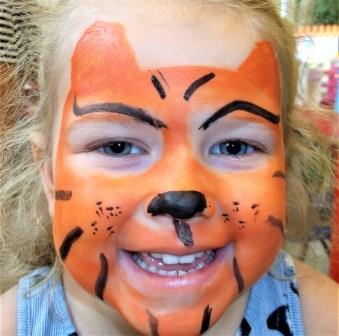 Tiger Face paint 6