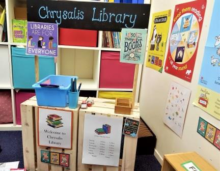 World Book day Chrysalis Library