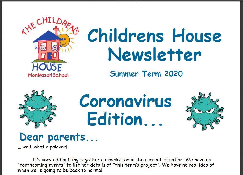 Childrens House Returns!